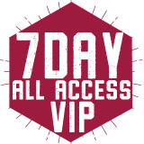 7 Day All Access - VIP $2,273.00